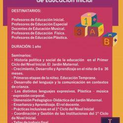 La enseñanza en el Primer Ciclo de Educación Inicial